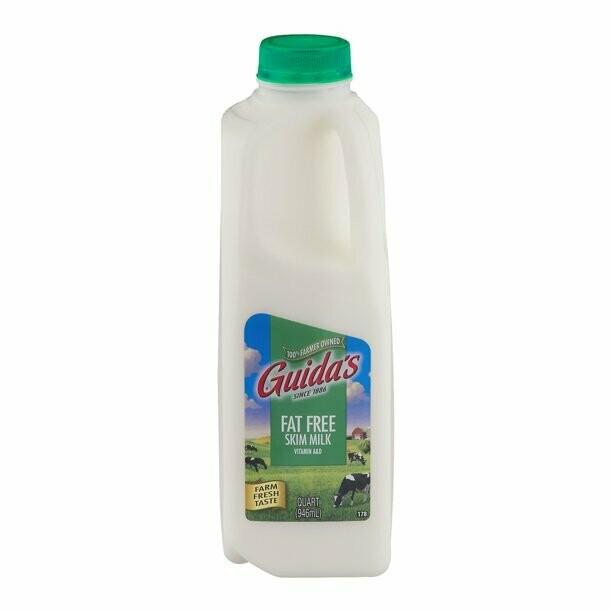 * Guida'S Dairy Skim Milk 1/2 Gallon