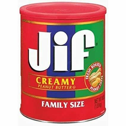 * Jif Creamy Peanut Butter 4 Pound Jar