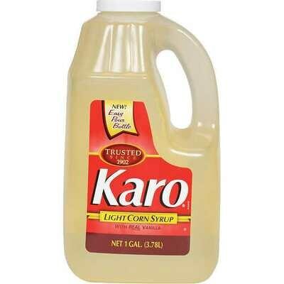 * Karo Light Corn Syrup Gallon