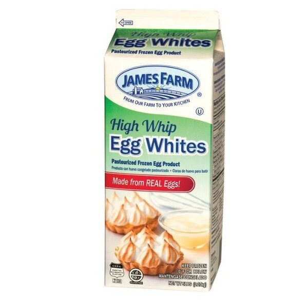 * James Farm Liquid Eggs Just Whites 2 Pounds