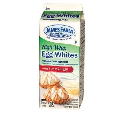 * James Farm Liquid Eggs Just Whites 2 Pounds