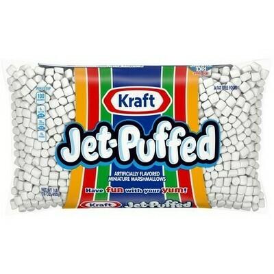 * Jet-Puffed Mini Marshmallows 16 Ounces Bag