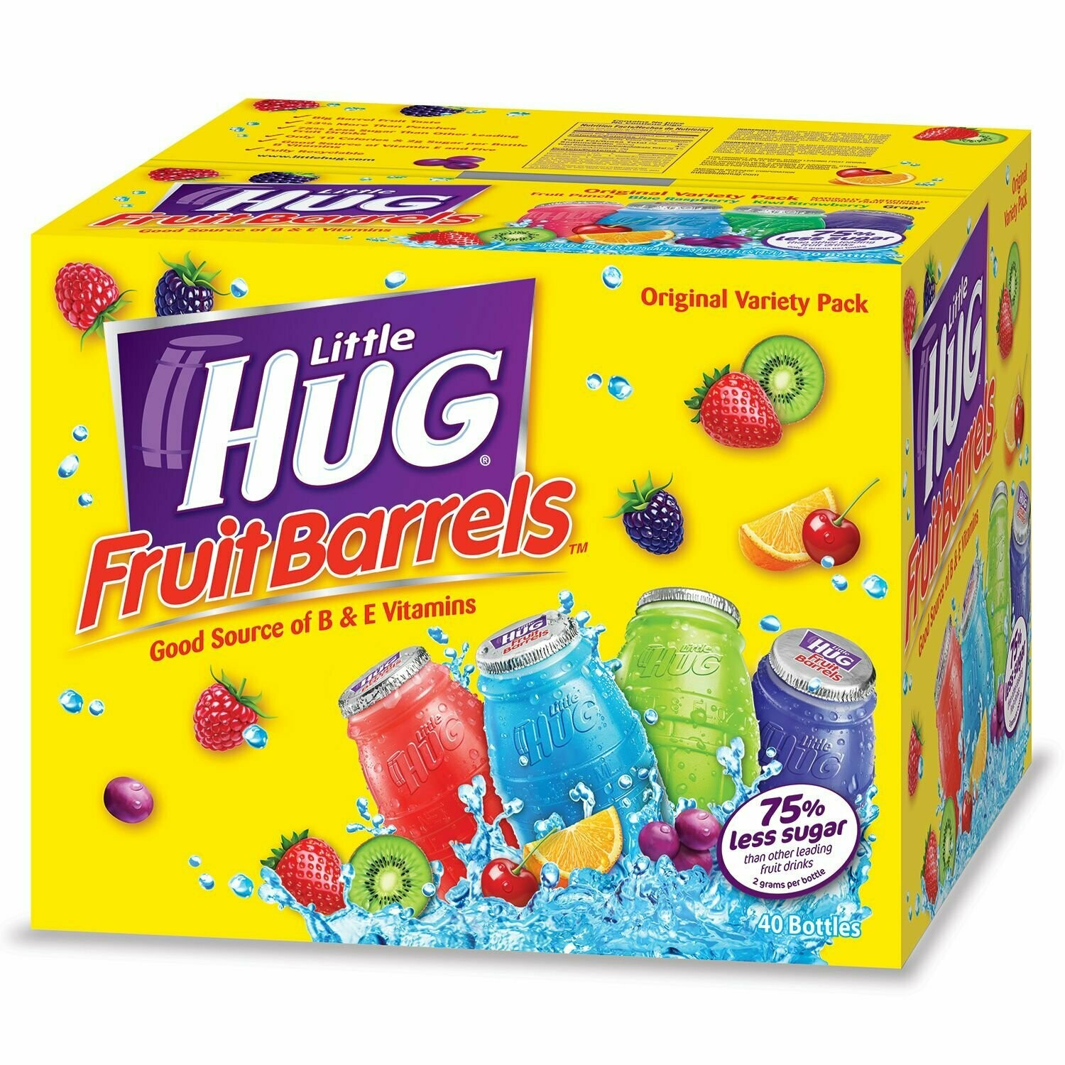 * Little Hug Variety Pack 40-8 Ounces