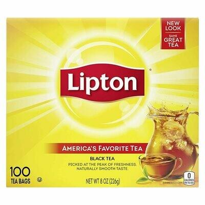 * Lipton Original Flavored Regular Tea Bags 100 Count