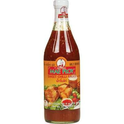 * Mae Ploy Thai Sweet Chili Sauce 32 Ounces Bottle