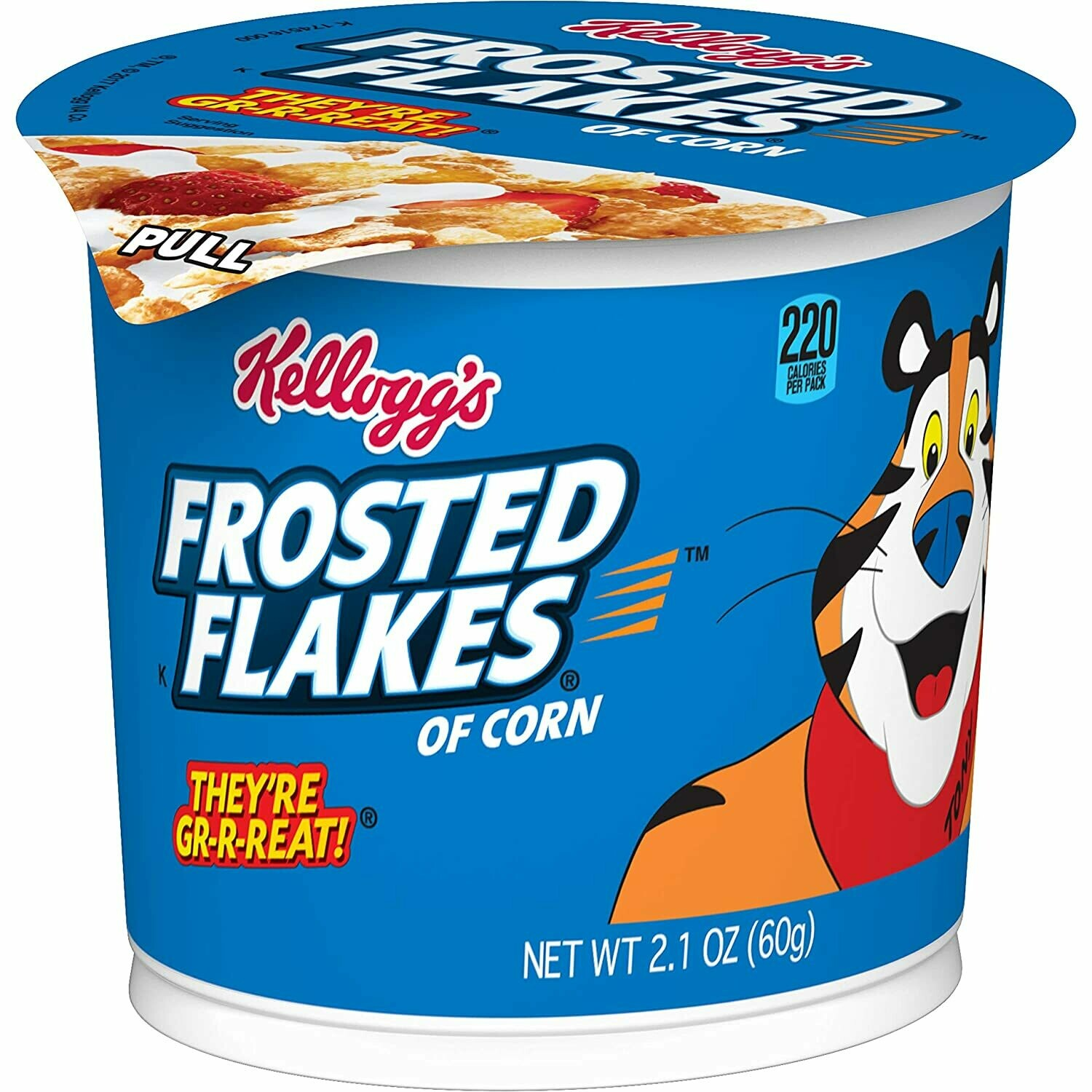 * Kellogg's Frosted Flakes Cereal Cup 6-2.1 Ounces