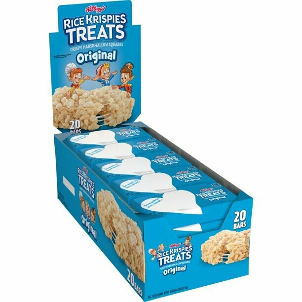 * Kellogg's Rice Krispies Single Serve Treats 20 Count