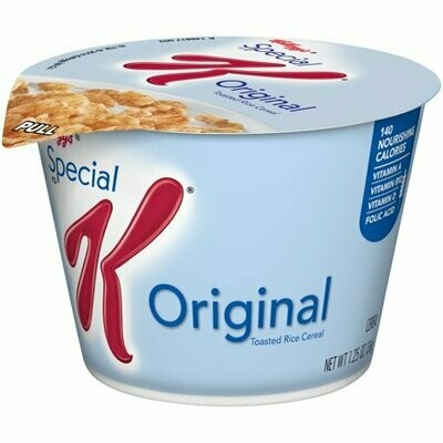 * Kellogg's Special K Cereal Cup 6-1.25 Ounces