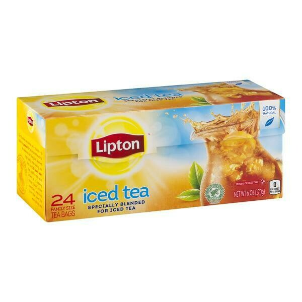 * Lipton Iced Tea Bags 24 Count