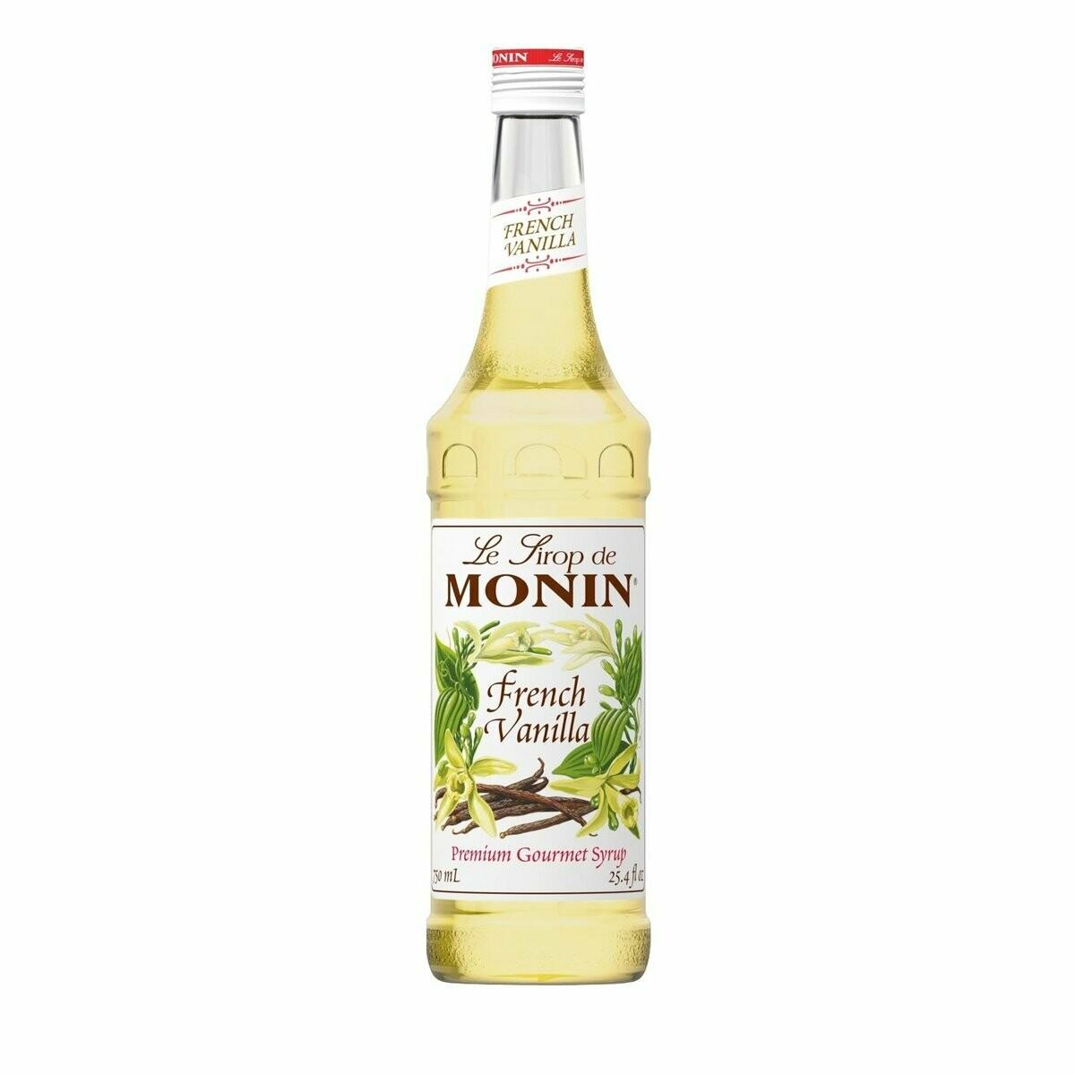 * Monin French Vanilla Syrup 750 Ml