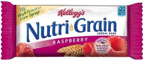 * Kellogg's Nutri-Grain Raspberry Cereal Bars 16-1.3 Ounces