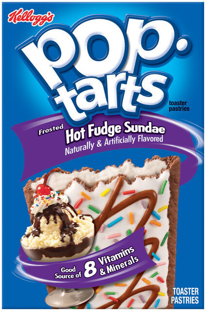 * Kellogg's Pop Tarts Hot Fudge Sundae Toaster Pastries 6-3.7 Ounces