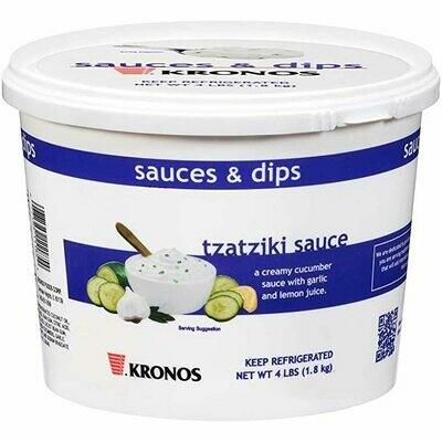 * Kronos Tzatziki Sauce Half Gallon