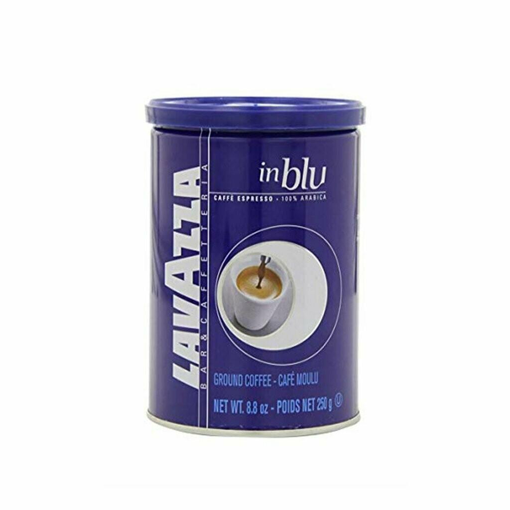 * Lavazza Espresso In Blu Coffee Tins 8.8 Ounces