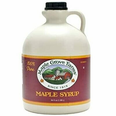 * Maple Grove Pure Maple Syrup 64 Ounces Bottle