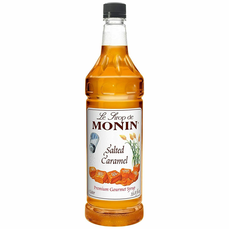 * Monin Salted Caramel Syrup 750 Ml