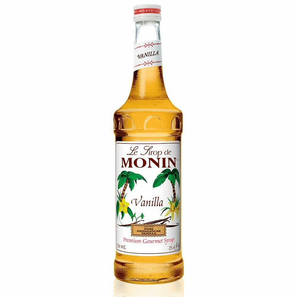 * Monin Vanilla Syrup 750 Ml