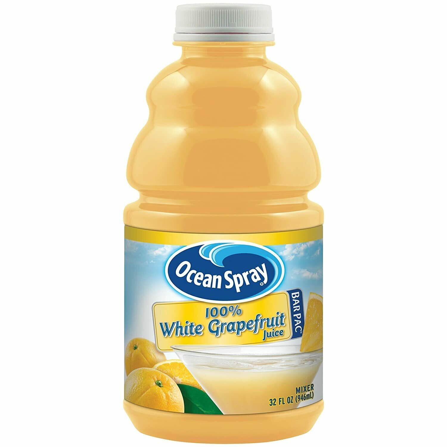 * Ocean Spray White Grapefruit Juice 32 Ounces Bottle