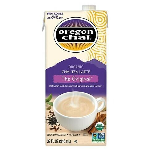 * Oregon Chai Original Concentrate 32 Ounces