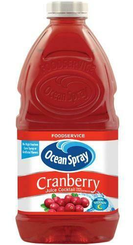 * Ocean Spray Cranberry Juice Cocktail 60 Ounces