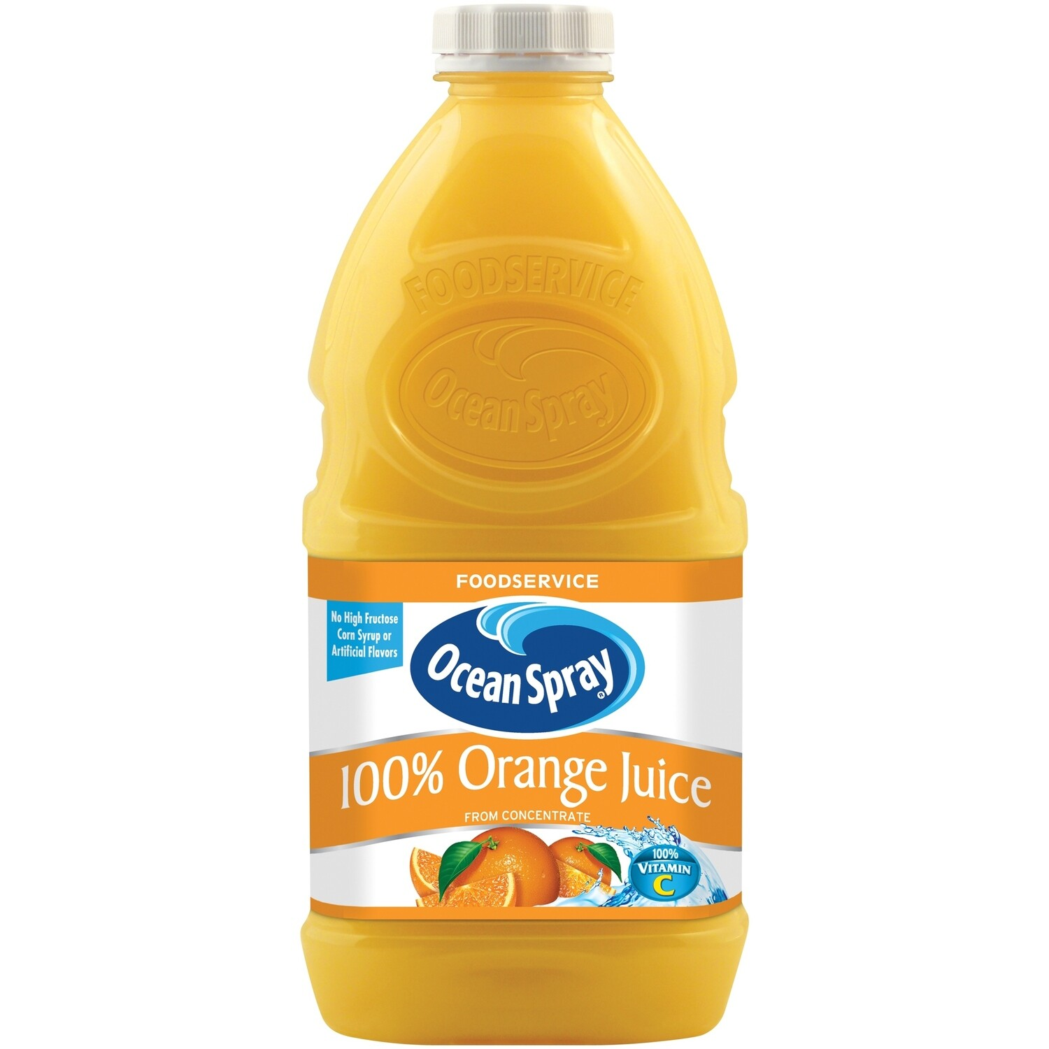 * Ocean Spray 100% Orange Juice 32 Ounces Bottle