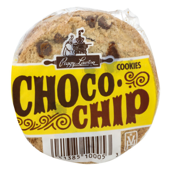 * Peggy Lawton Chocolate Chip Cookies 12-1.75 Ounces Pack