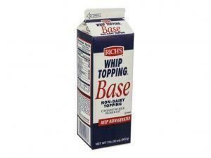 * Rich's Whip Topping Base 2 Pounds