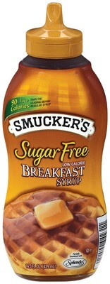 * Smucker's Sugar Free Pancake Syrup 14.5 Ounces Bottles