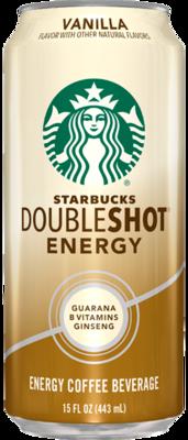 * Starbucks Doubleshot Vanilla 12-15 Ounces
