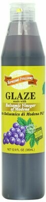* Supremo Italiano Balsamic Glaze 12.9 Ounces Bottle
