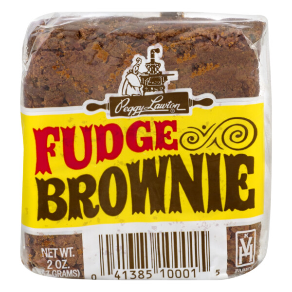 * Peggy Lawton Fudge Brownies 12-1.75 Ounces Pack