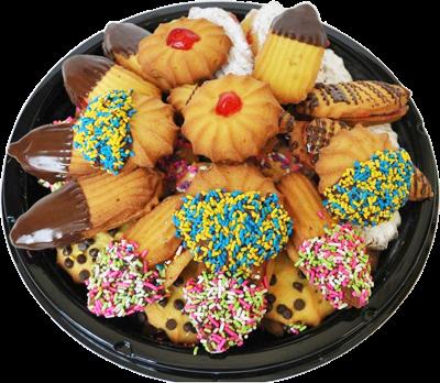 * Ruggero'S Bake Shop Assorted Cookie Platter 2.5 Pounds