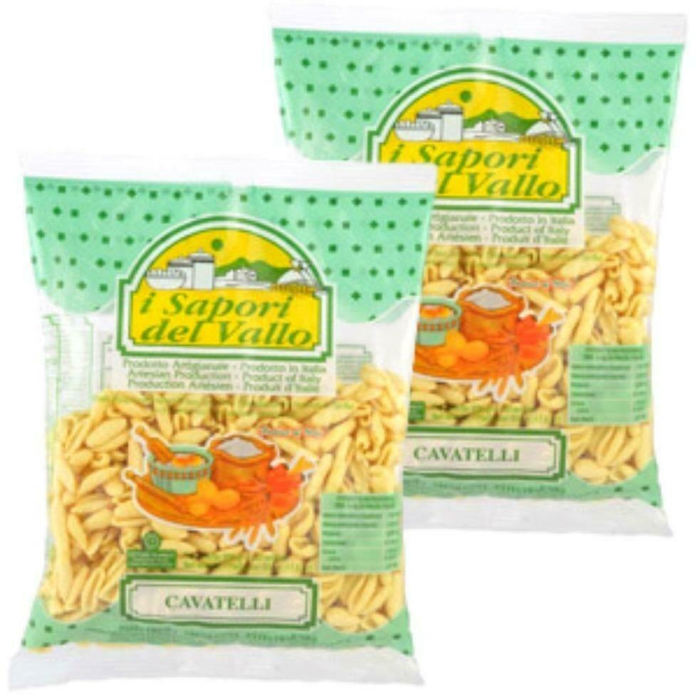 * Sapori Del Vallo Cavatelli Pasta 1 Pound