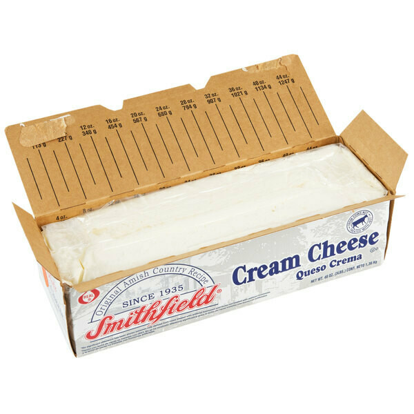 * Smithfield Lite Cream Cheese Loaf (Neufchatel) 3 Pounds