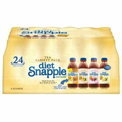 * Snapple Diet Tea Variety Pack 20 Ounces