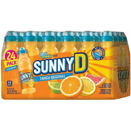 * Sunny D Original Tangy Citrus Punch 24-11.3 Ounces