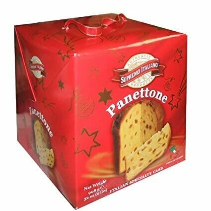 * Supremo Italiano Panettone Italian Specialty Cake 2 Pounds