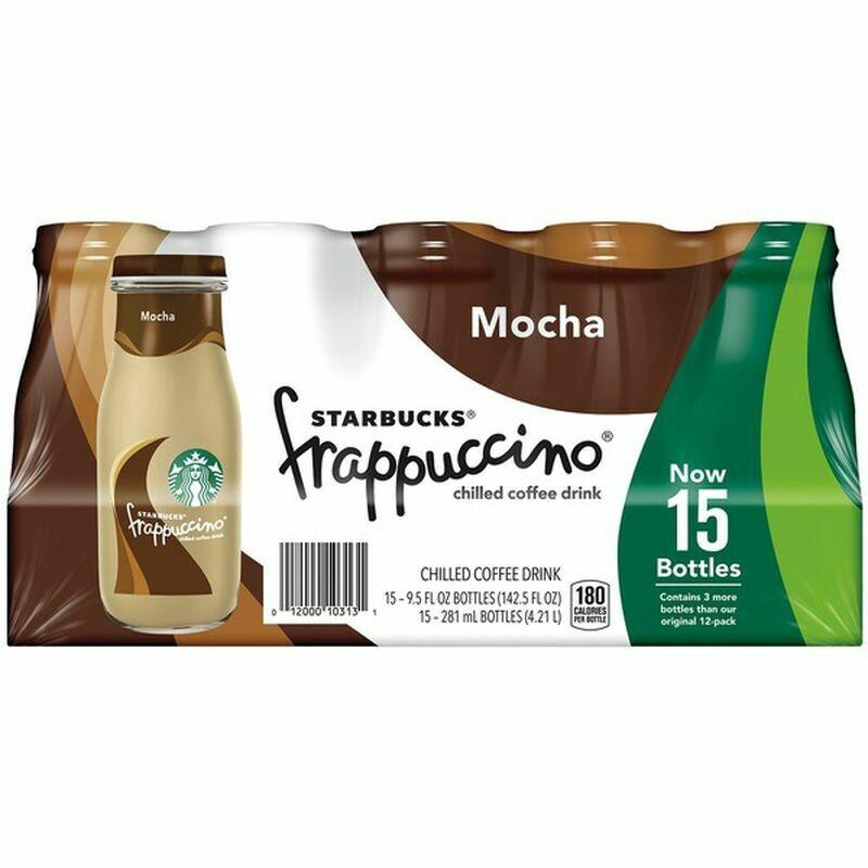 * Starbucks Mocha Frappuccino 15-9.5 Ounces