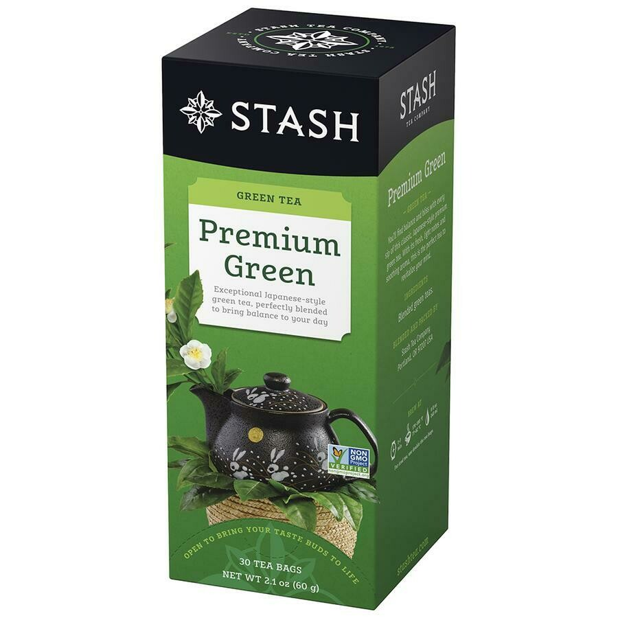 * Stash Organic Green Tea 30 Count