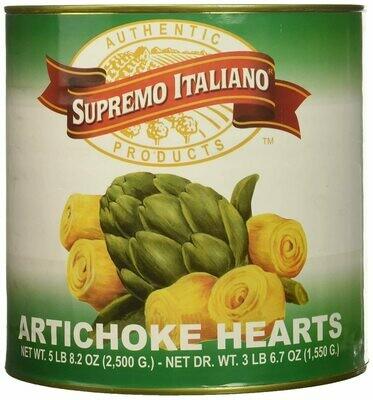 * Supremo Italiano Marinated Artichokes 68 Ounces Can