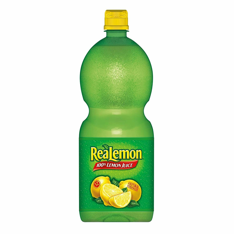 * Realemon Lemon Juice 48 Ounces
