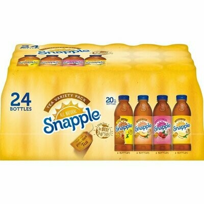 * Snapple Tea Variety Pack 20 Ounces 24 Count