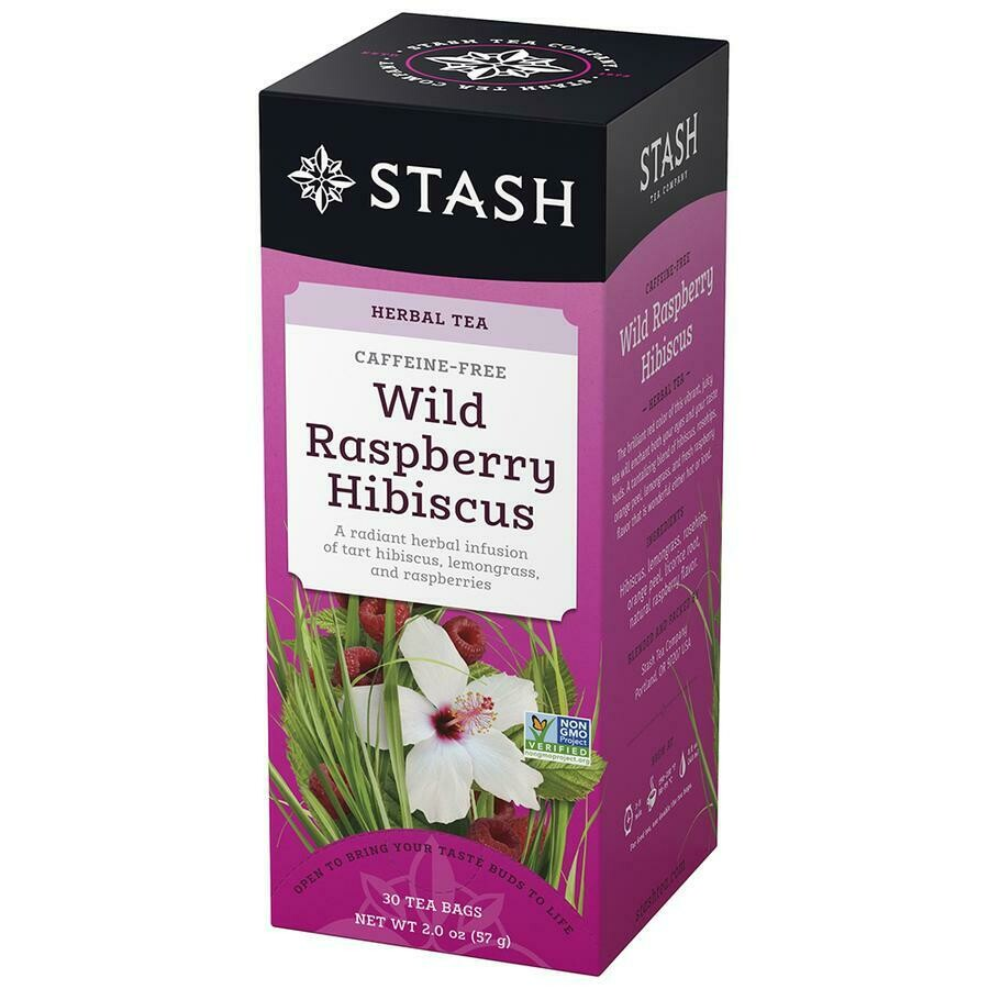 * Stash Wild Raspberry Hibiscus Tea 30 Count