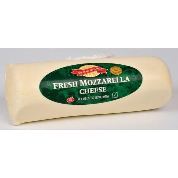 * Supremo Italiano Fresh Mozzarella Log 2 Pounds
