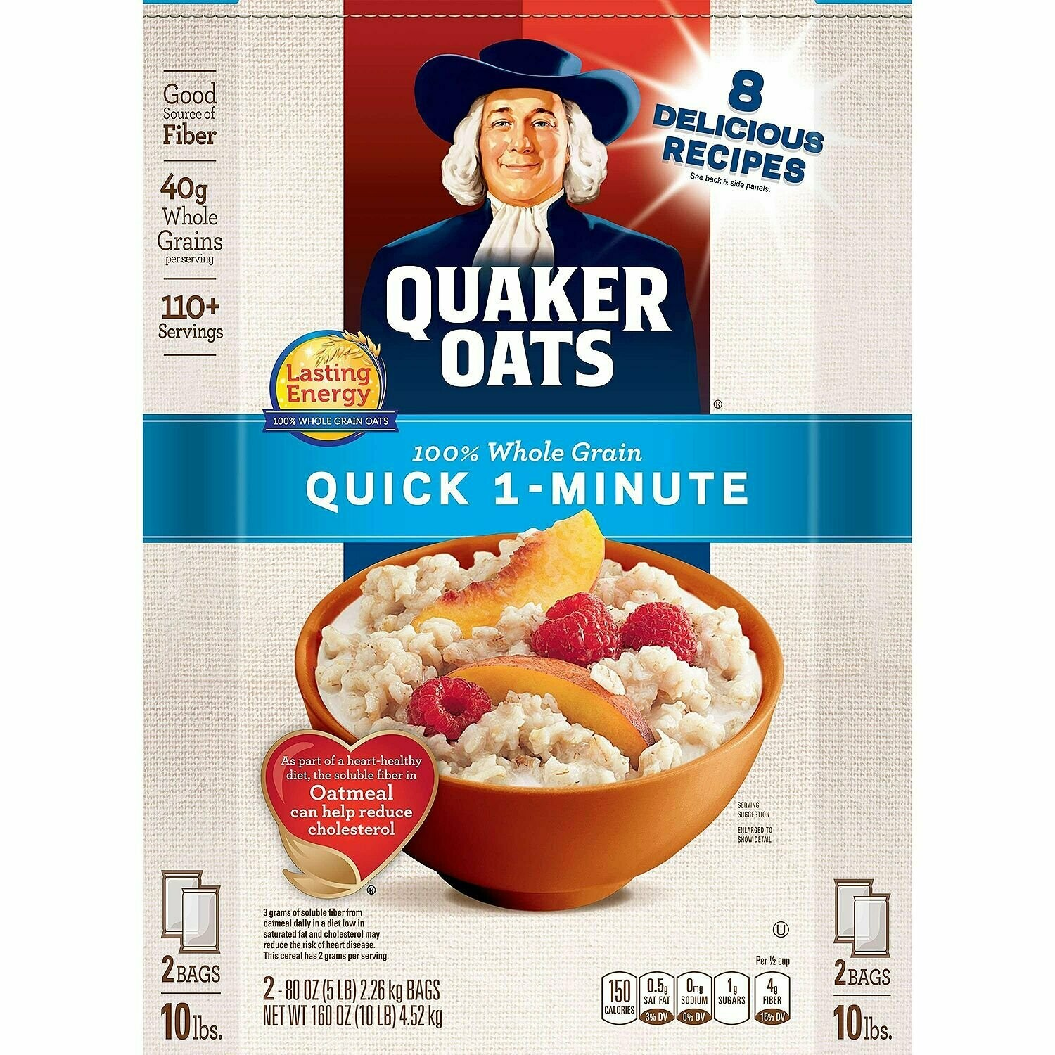 * Quaker Standard Oats 10 Pounds