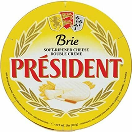 * President Brie Cheese Wheel, Domestic 2 Pounds