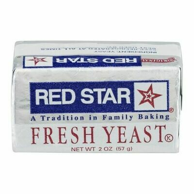 * Red Star Wet Bakers Yeast 1 Pound