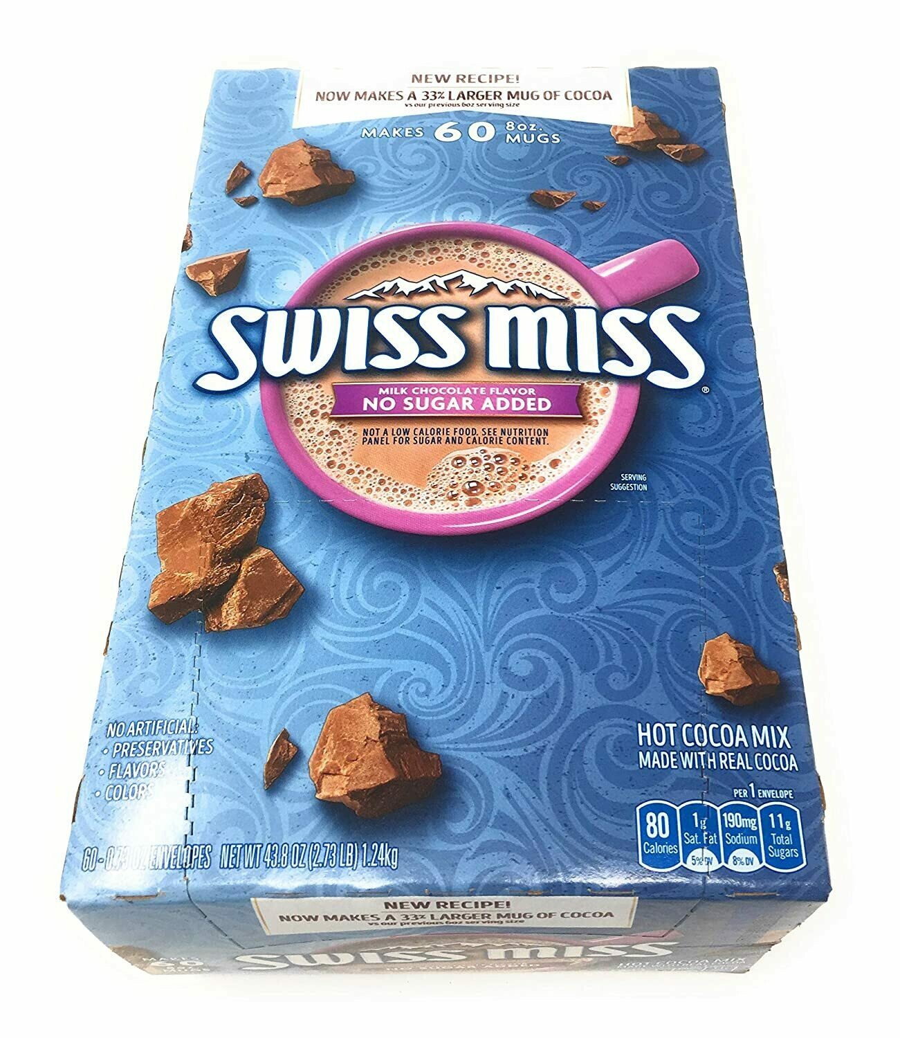 * Swiss Miss Sugar-Free Hot Cocoa Mix 25 Count