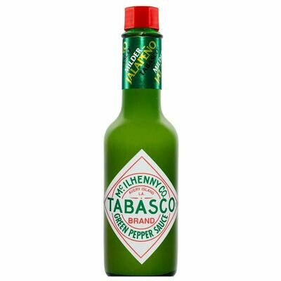 * Tabasco Green Pepper Hot Sauce 5 Ounce Bottle