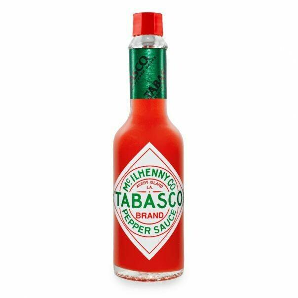 * Tabasco Red Pepper Hot Sauce 12 Ounces Bottle